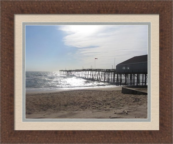 Cathy Lindsey - Nags Head Pier 2 Print