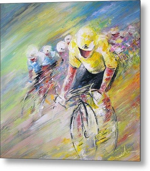 Miki De Goodaboom - Yellow Triumph Print