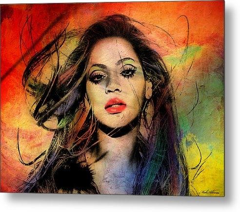 Mark Ashkenazi - Beyonce Print