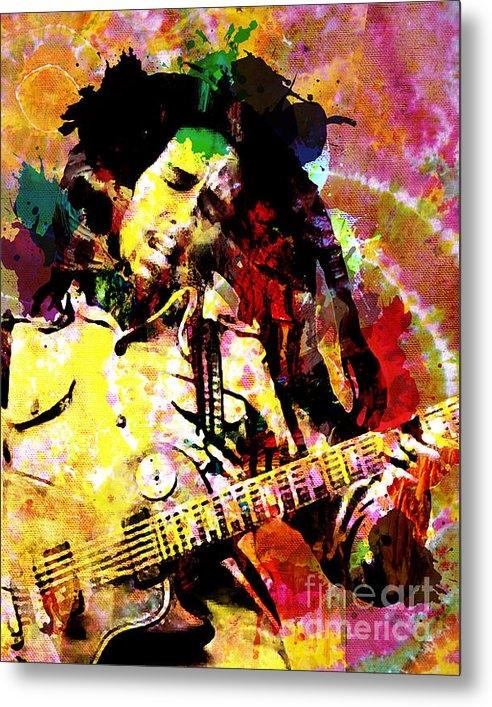 Ryan RockChromatic - Bob Marley Original Paint... Print