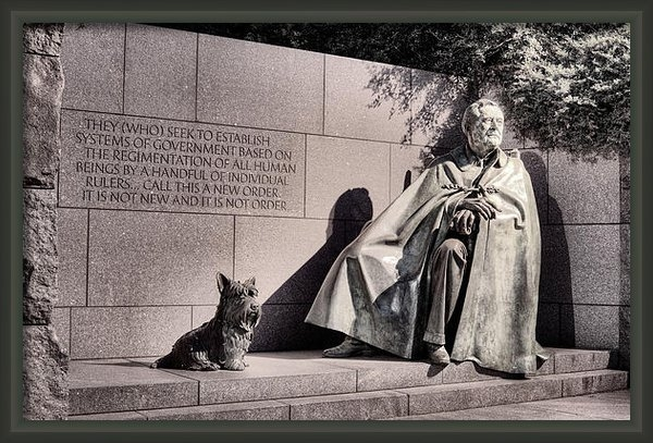 JC Findley - The FDR Memorial Print