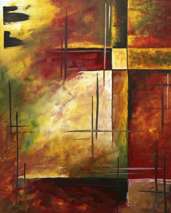 Megan Duncanson - Depth of Emotion II by MA... Print