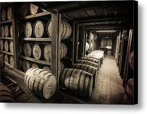Karen Zucal Varnas - Bourbon Barrels Print