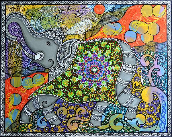Deepti Mittal - Majestic3 Print