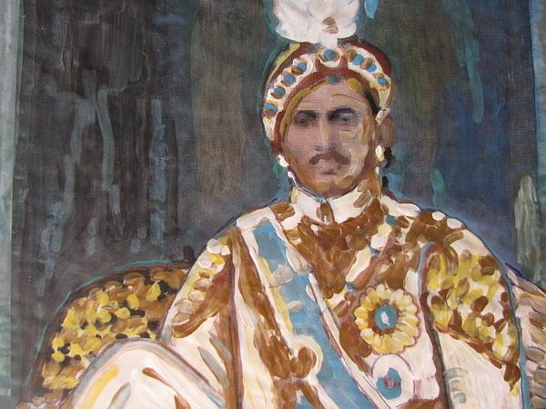 Vikram Singh - Maharaja Jai Singh Print