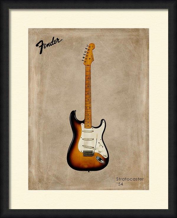 Mark Rogan - Fender Stratocaster 54 Print
