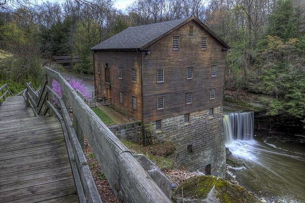 David Dufresne - Old Mill of Idora Park Print