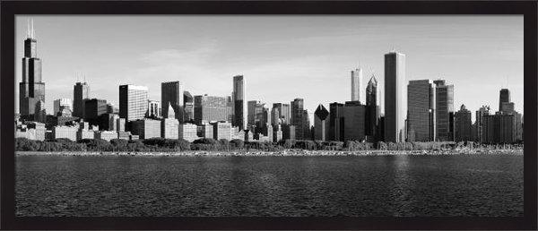 Donald Schwartz - Chicago Black and White Print