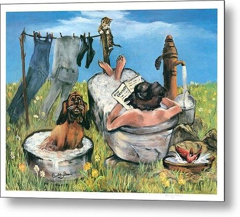 Steve Waltner - Spring Bath Print