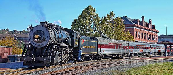 Jack Schultz - Cumberland Maryland Train... Print