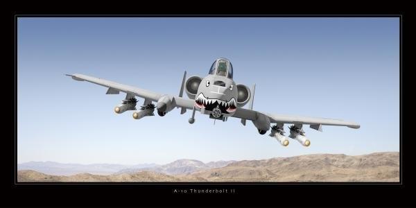 Larry McManus - A-10 Thunderbolt II Print
