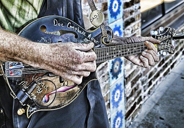 Wildcat Studios - Street Musician 3. Dadjim... Print