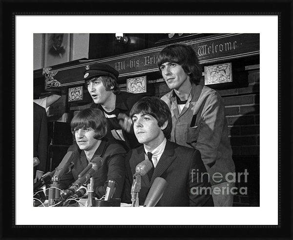 Martin Konopacki - Beatles in Chicago 1965 Print