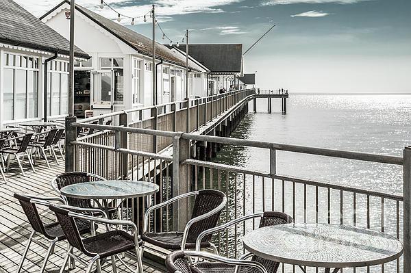 Stephen  Mole - Southwold Pier Print