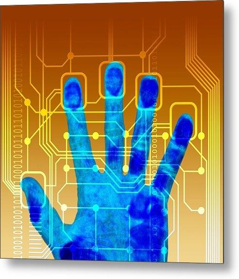 Pasieka - Fingerprint Scanner, Artw... Print