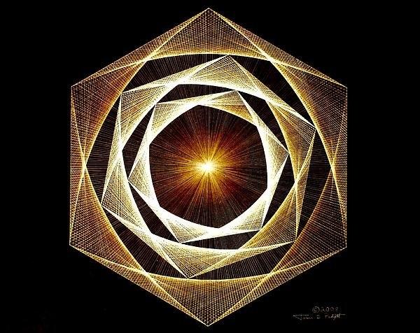 Jason Padgett - Spiral Scalar Print