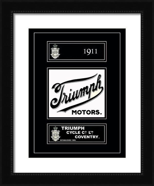 Mark Rogan - Triumph 1911 Print