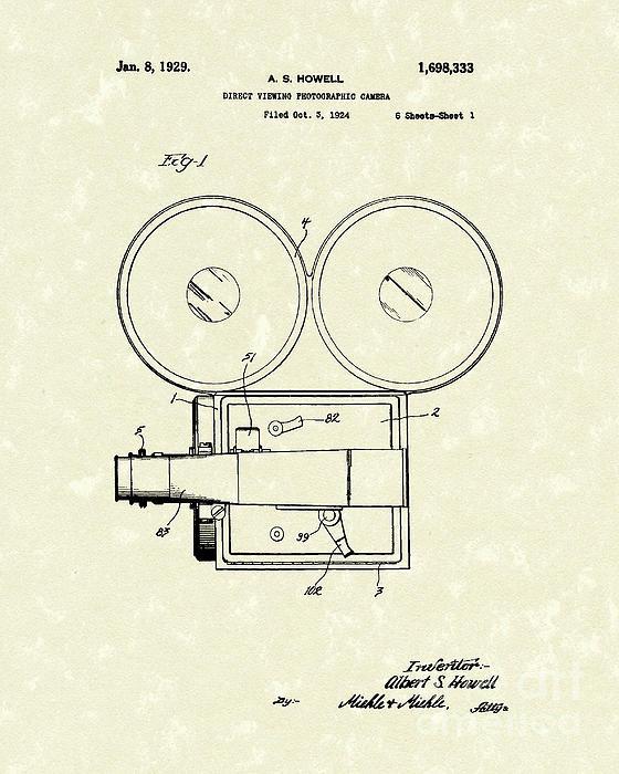 Prior Art Design - Photographic Camera 1929 ... Print