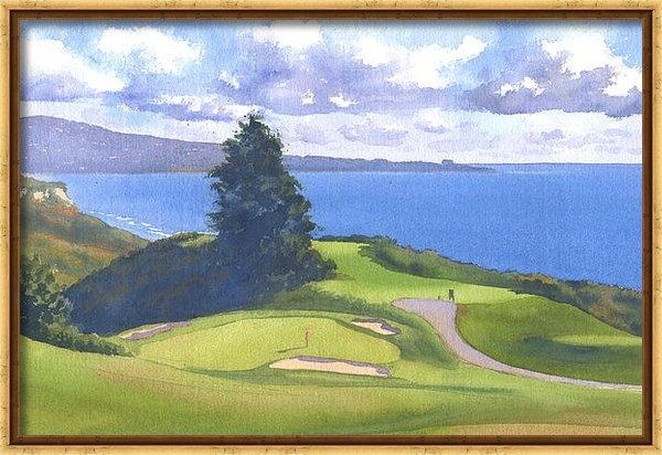 Mary Helmreich - Torrey Pines Golf Course ... Print
