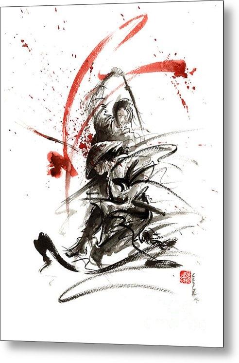 Mariusz Szmerdt - Samurai sword black white... Print