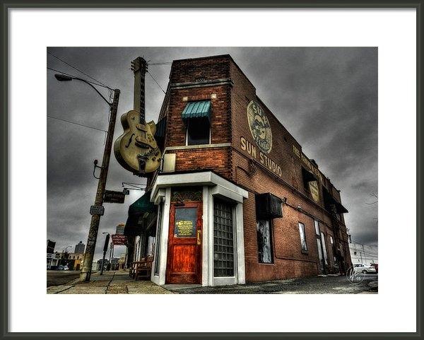 Lance Vaughn - Memphis - Sun Studio 002 Print