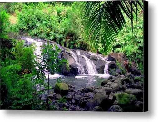 Kevin Smith - Hahalawe Falls Maui Print