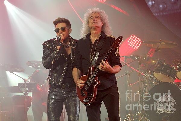 Front Row Photographs  - Queen Adam Lambert  Brian... Print