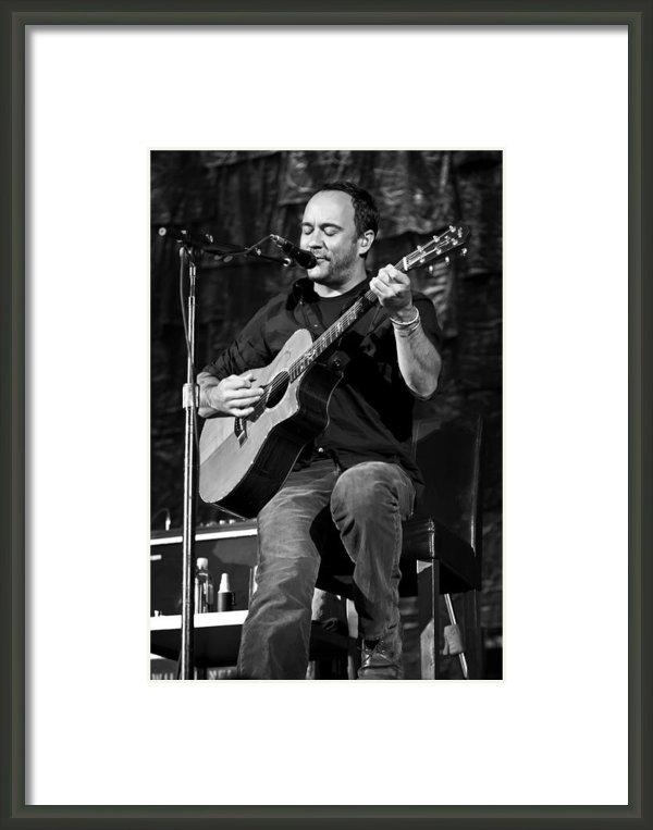 The  Vault - Jennifer Rondinelli Reilly - Dave Matthews on Guitar 9... Print