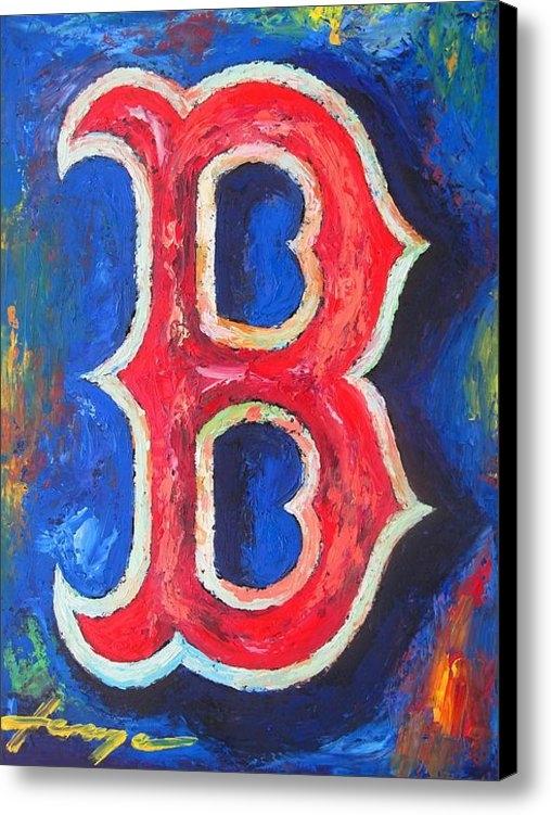 Dan Haraga - Boston RED SOX Baseball Print