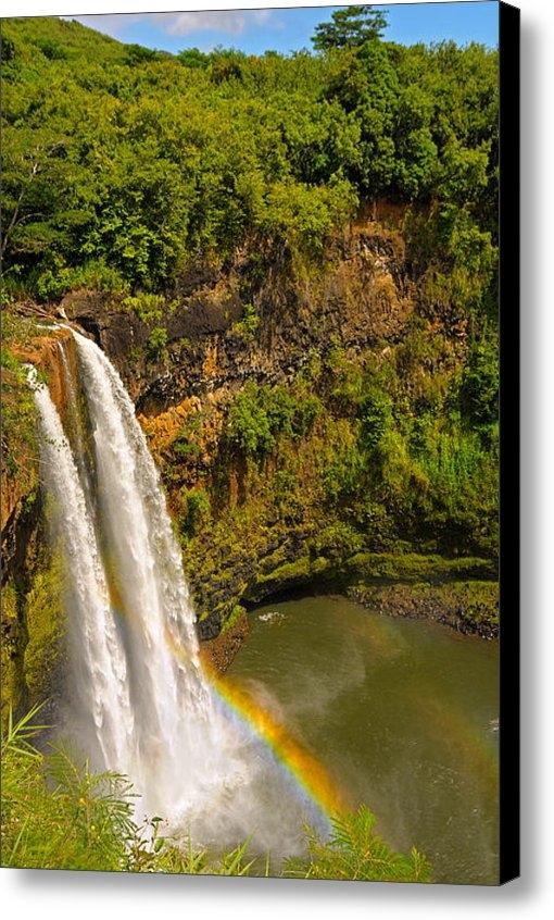 Kenneth Sponsler - Wailua Falls Print