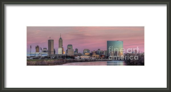 Twenty Two North Photography - Indianapolis Skyline Print