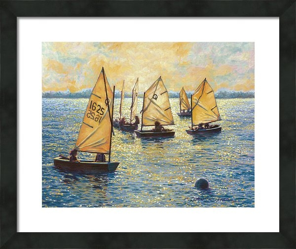 Marguerite Chadwick-Juner - Sunwashed Sailors Print
