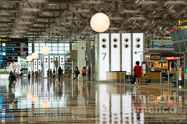 Rick Piper Photography - Singapore Changi Airport ... Print