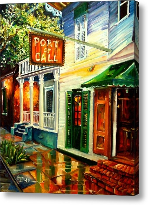 Diane Millsap - New Orleans Port of Call Print