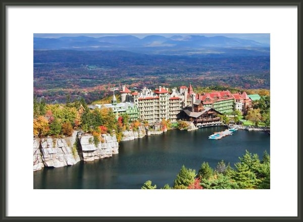 June Marie Sobrito - Mohonk Mountain House Print