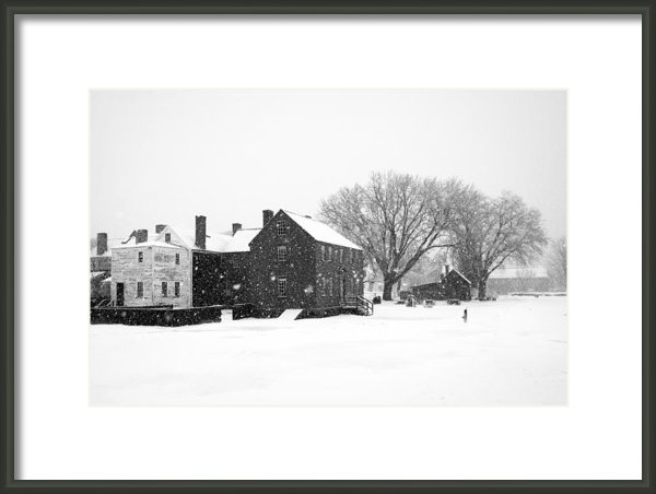 Eric Gendron - Whiteout at Strawbery Ban... Print
