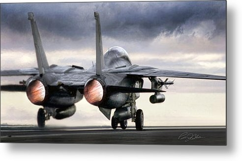Peter Chilelli - Tomcat Launch Print