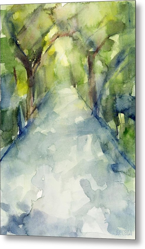 Beverly Brown Prints - Path Conservatory Garden ... Print