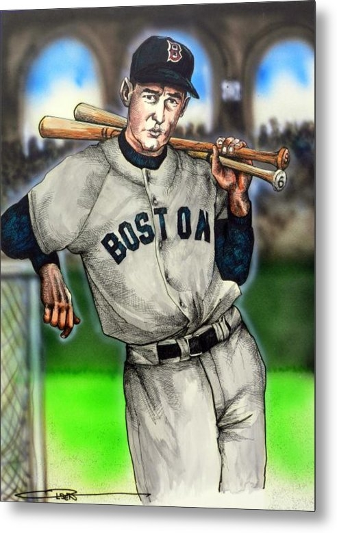 Dave Olsen - Ted Williams Print
