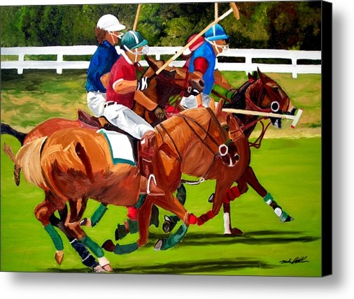 Michael Lee - A Game of Polo Print