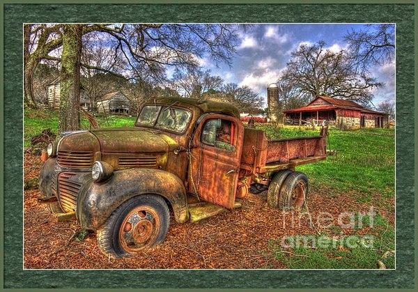 Reid Callaway - Boswell Farm Dodge Dump T... Print