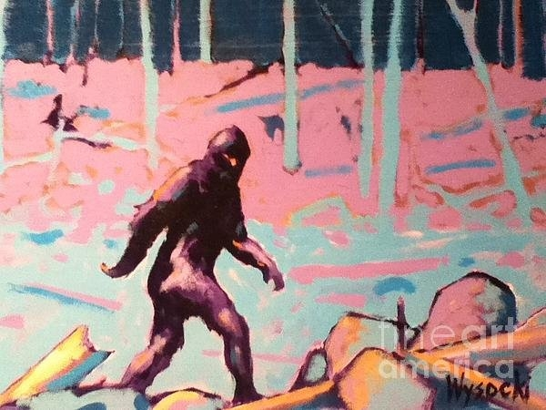 Stephen Wysocki - Bigfoot Print
