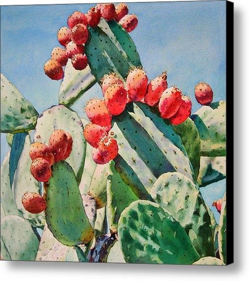 Kathleen Ballard - Cactus Apples Print