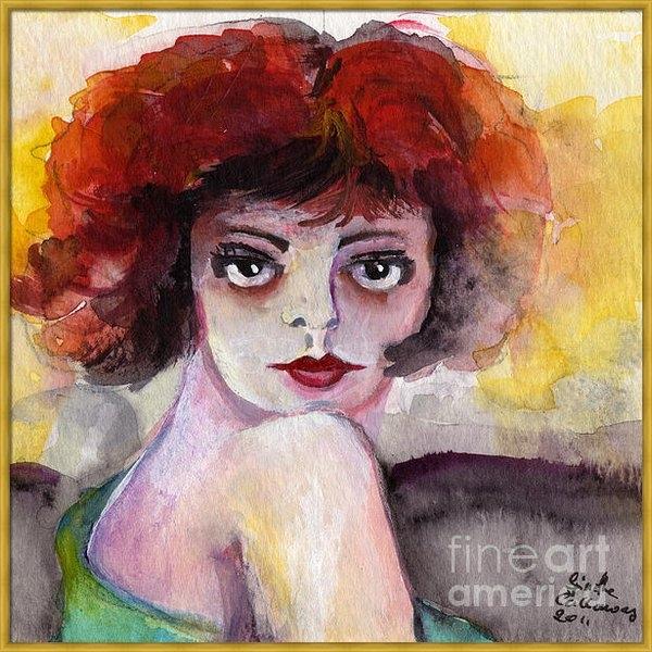 Ginette Fine Art LLC Ginette Callaway - Clara Bow Vintage Movie S... Print