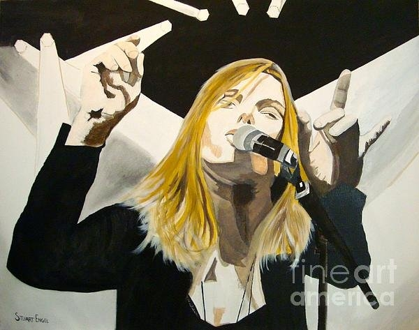 Stuart Engel - Grace Potter At The Peel Print