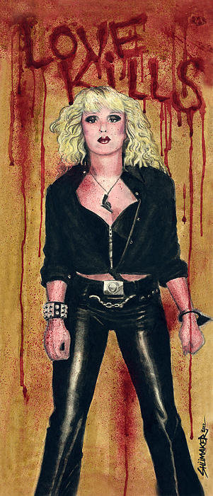 David Shumate - Nancy Spungen Love Kills Print