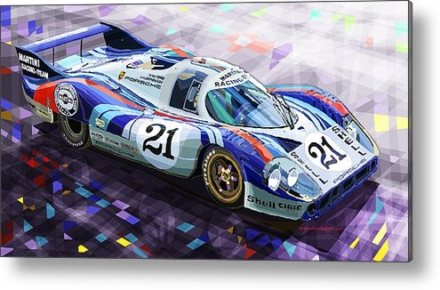 Yuriy  Shevchuk - Porsche 917 LH Larrousse ... Print