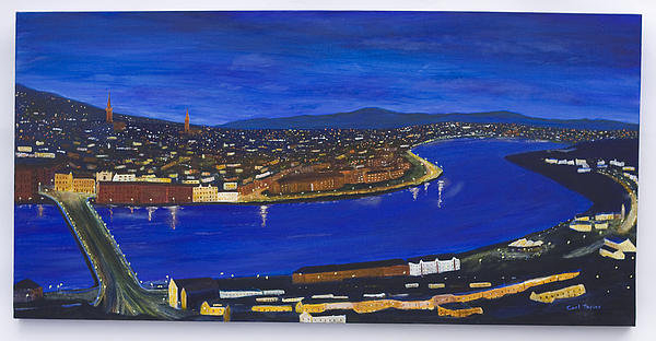 Carl Taylor - Derry At Night Print