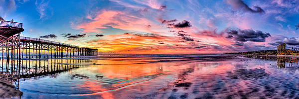 Josh Whalen - Crystal Pier Panoramic On... Print