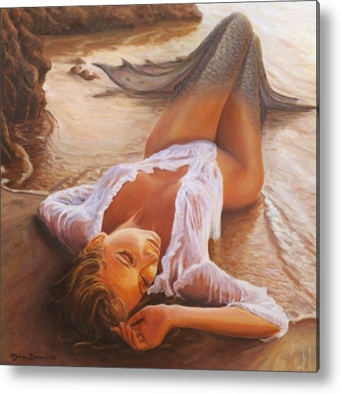 Marco Busoni - A Mermaid In The Sunset -... Print